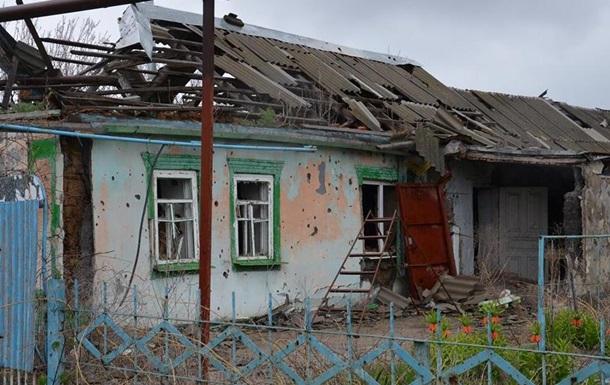 На своем огороде ранен местный гражданин — Обстрел Марьинки