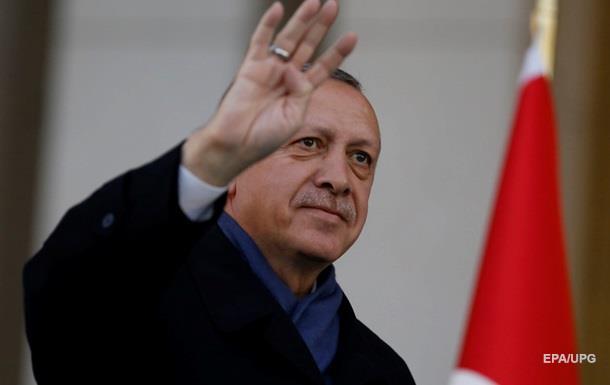 Эрдоган поведал, очем попросил его Путин впроцессе недавней конференции