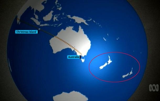 В Сети высмеяли две Новых Зеландии на тв-карте