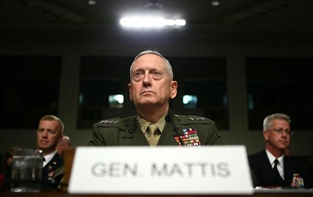 Министр обороны США Мэттис поддержал целостность инезависимость государства Украины