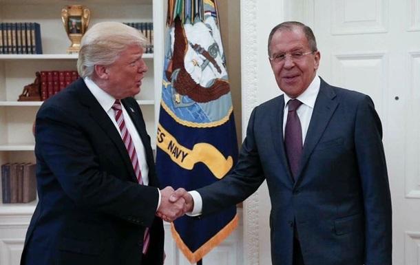 Важный час переговоров: Сергей Лавров встретился сДональдом Трампом