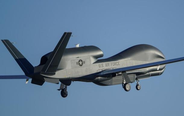 Американский Global Hawk провел разведку вДонбассе