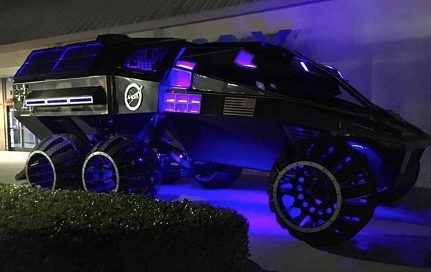 Инженеры NASA представили  бэтмобиль  для Марса