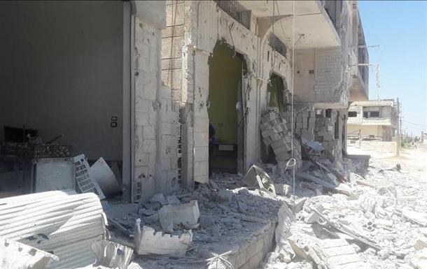 Уавіація Сирії Асада скинула вакуумні бомби нажитлові будівлі, є загиблі