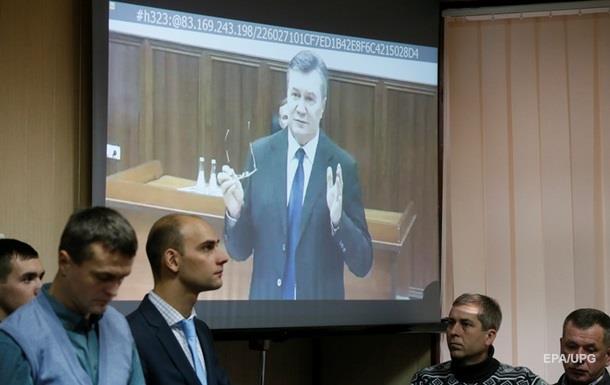 Суд запретил Януковичу давать показания по Скайпу