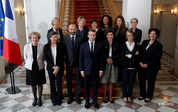 11 жінок Макрона.  Найчистіший  кабмін Франції