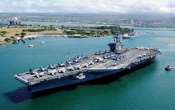Протистояння зКНДР: США відправили авіаносець доКорейського півострова