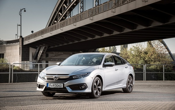 Honda представила новую европейскую версию Civic