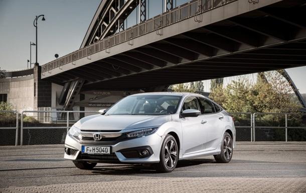 Honda представила европейскую версию авто Civic