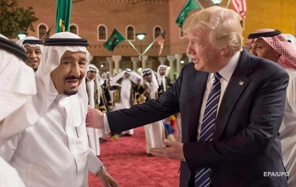 США и Саудовская Аравия подписали договоры на $ 380 млрд