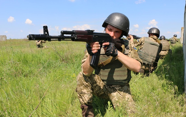 Военные заняли новые позиции на Светлодарской дуге