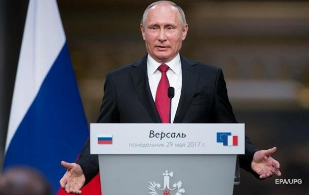 Встреча Путина иМакрона: как главаРФ «запутался» вистории