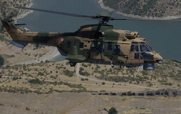 Крушение военного вертолета в Турции: погибли 13 человек