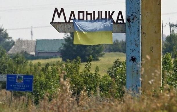 Марьинка попала под обстрел, ранены двое