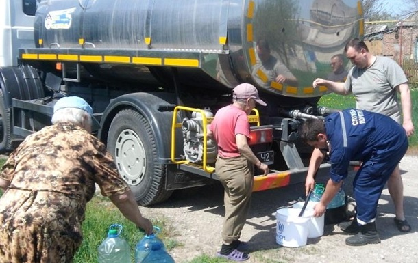 МинВОТ: ВАвдеевке запас воды врезервуарах может закончиться завтра