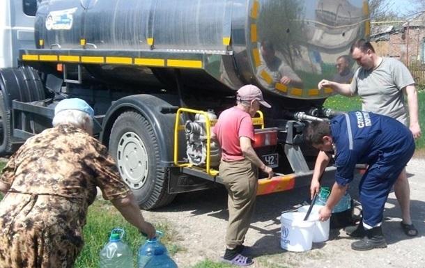МинВОТ: ВАвдеевке запаса воды хватит только доутра