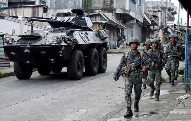 НаФилиппинах 13 морпехов погибли вбою стеррористами