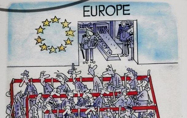 Безвизовый режим Украина - ЕС