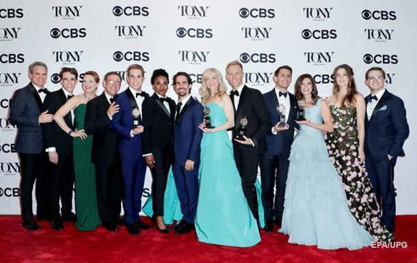 ВНью-Йорке состоялась церемония вручения театральной премии Tony Awards