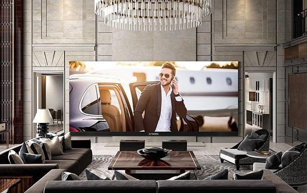 Представлен самый большой в мире телевизор 4K