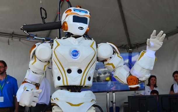 NASA показало марсианского робота-гуманоида вдействии