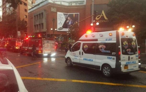 В Колумбии произошел взрыв в торговом центре