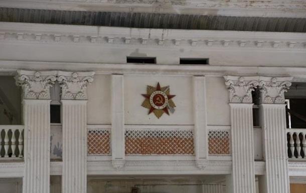 В Одессе сгорел будущий штаб ВМС