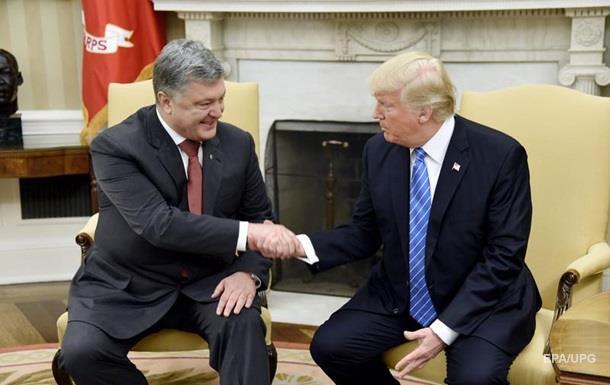 СМИ: Порошенко использует  бизнес-подход  к Трампу