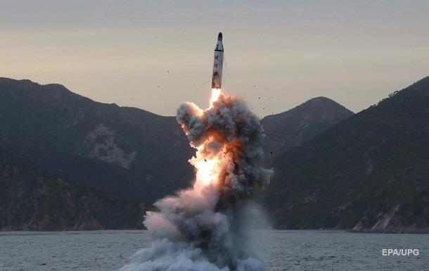 КНДР запустила очередную ракету