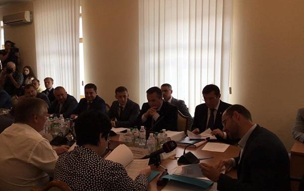 Решение комитета не дает возможность рассмотреть снятие неприкосновенности Дейдея вРаде,— Луценко