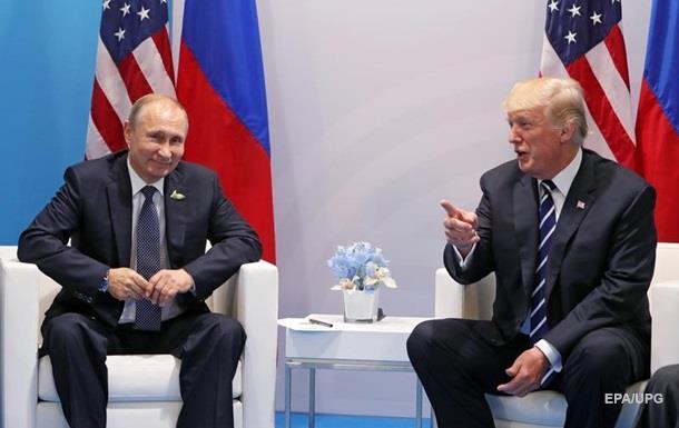 Путин рассказал о разговоре с Трампом