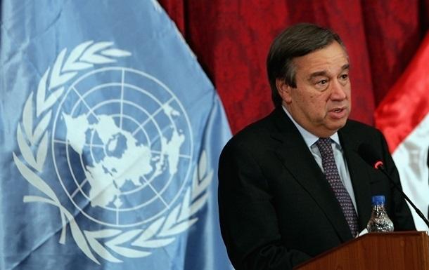 Генсек ООН посетит Украину 9 июля