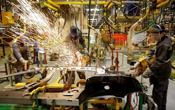 В Україні виробництво автомобілів виросло на 73%