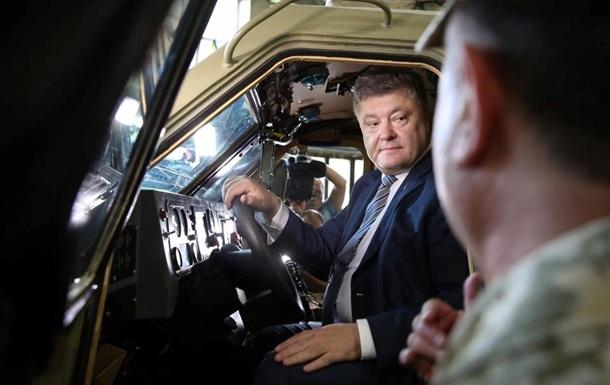 Перші батальйони отримають танки «Оплот»— Порошенко