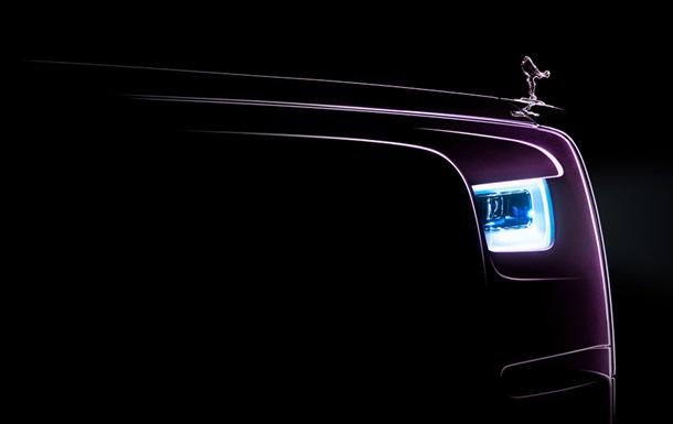 Появился новый тизер Rolls-Royce Phantom