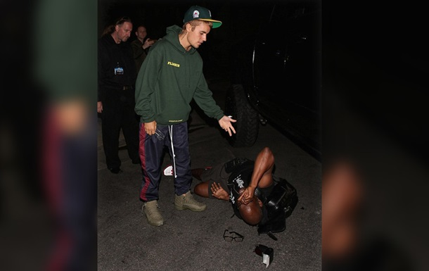 Джастин Бибер сбил на своем авто журналиста