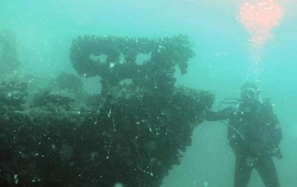 НаОдещині дайвери знайшли затонуле німецьке судно часів Другої Світової