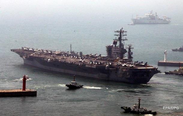 Иран заявляет о удар с авианосца Nimitz