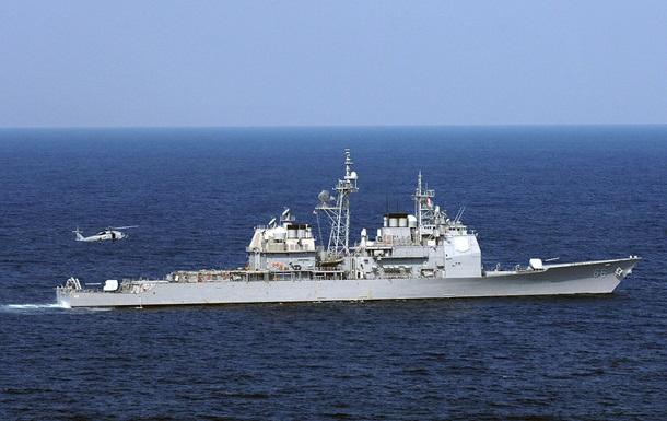 Американский ракетный крейсер вышел из Черного моря