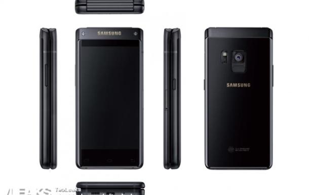 В Сети показали рендеры  раскладушки  Samsung