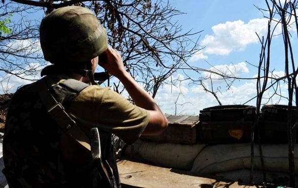 Бойовики 18 разів обстріляли позиції сил АТО, постраждали п'ятеро бійців