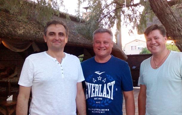 Олег Верник та Володимир Сердюк провели робочу зустріч з В'ячеславом Роєм