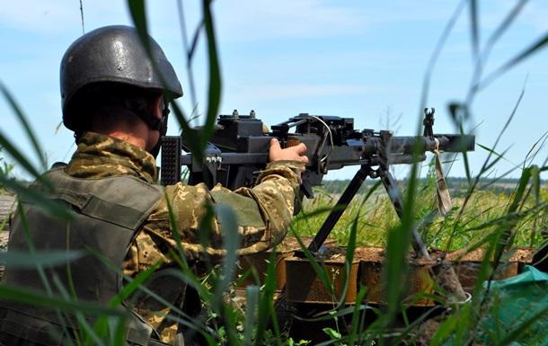 Штаб: В зоне АТО увеличилось количество обстрелов