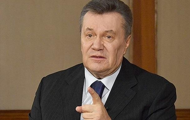 Янукович пожаловался вГенпрокуратуру Украины надействия киевских судей