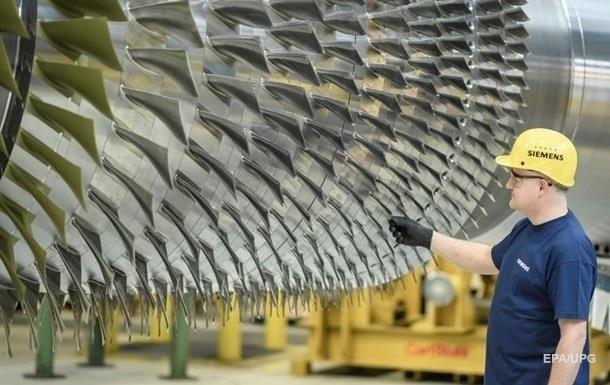 Через турбіни Siemens втратить до200 млн євро