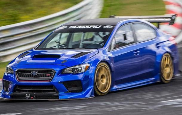 Subaru показала рекордный заезд своего седана