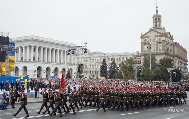 УГенштабі показали, якпроходять репетиції параду доДня Незалежності