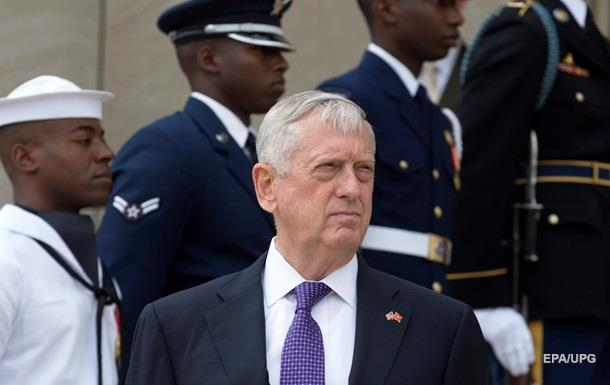 КНДР чекає кінець режиму вразі війни зі США— Меттіс