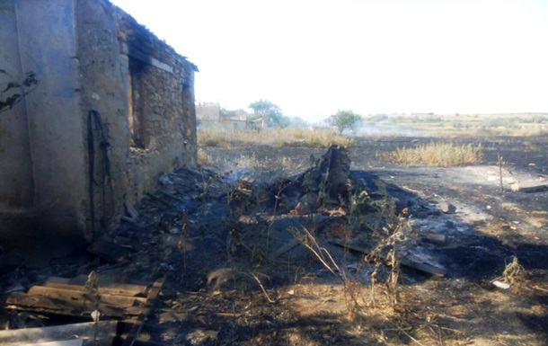 На Николаевщине масштабный пожар сухой травы
