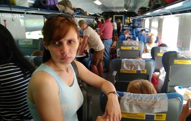 Не хватило вагонов пассажиры Интерсити Одесса Киев ехали стоя